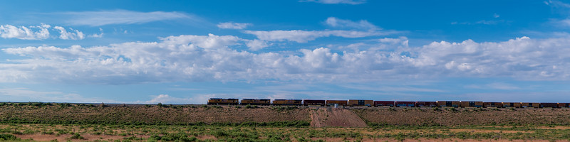 Wyoming BNSF Train