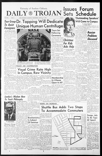 Daily Trojan, Vol. 57, No. 13, October 06, 1965