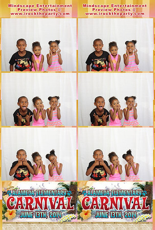 Alameda Elementary School Carnival 2014 - Photo Booth Pictures