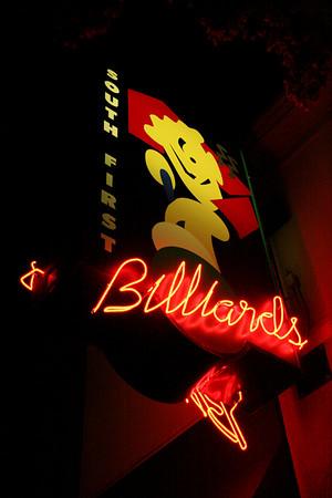2007 Intern South First Billiards Best Shots