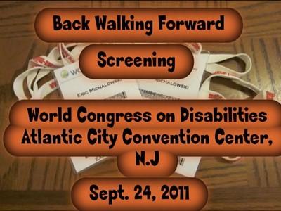 BWF Screening at World Congress On Disabillities