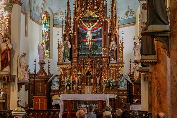 Rev. Father Max Landman's First Mass