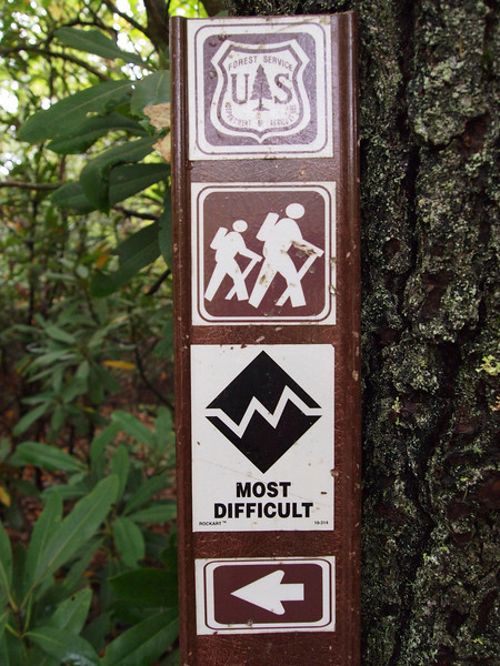 Glen Falls in the Nantahala National Forest.
