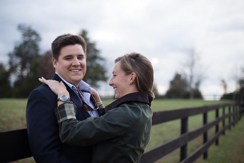 Stephanie and Skyler Engagement Crozet, VA
