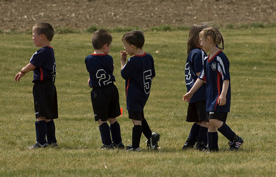 Josiah's Second Soccer Game