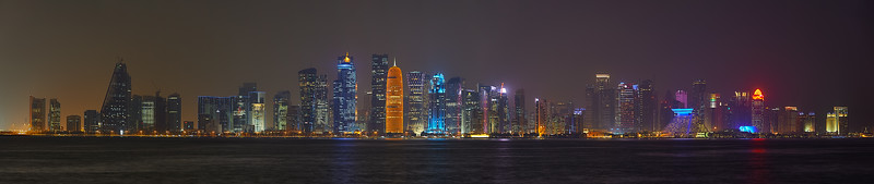 Panorama of Doha