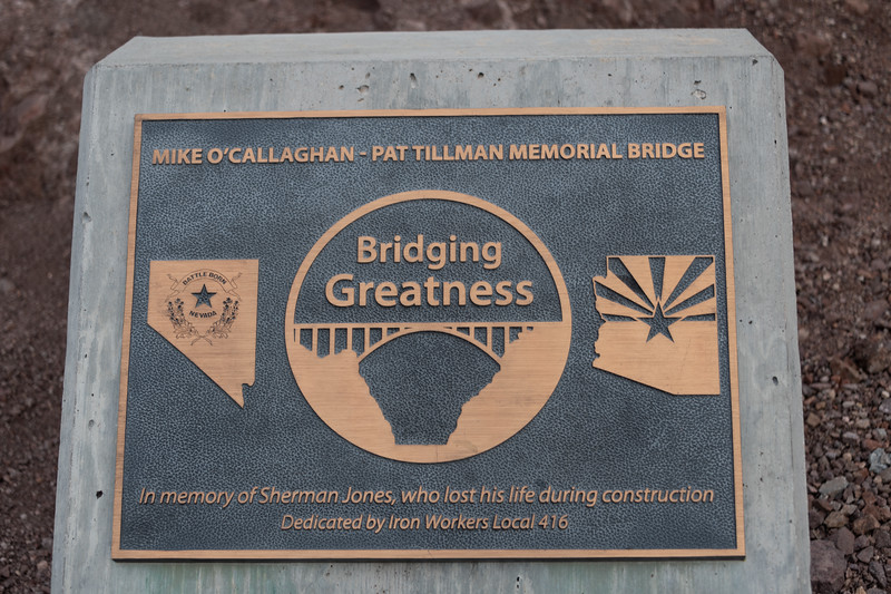 Mike O'Callaghan - Pat Tillman Memorial Bridge, Boulder City, Nevada