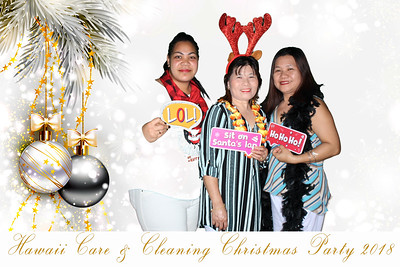 Hawaii Care & Cleaning Holiday Party 2018