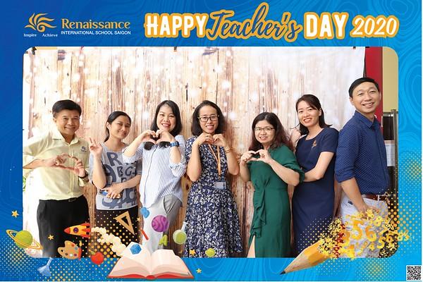 Renaissance International School | Vietnam Teacher's Day instant print photo booth | Chụp hình in ảnh lấy li�n Ngày Nhà giáo Việt Nam 20/11 | Photo Booth Vietnam