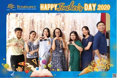 Renaissance International School | Vietnam Teacher's Day instant print photo booth | Chụp hình in ảnh lấy liền Ngày Nhà giáo Việt Nam 20/11 | Photo Booth Vietnam