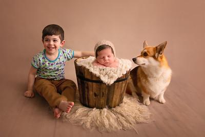 Rachael Parkin Newborn Shoot