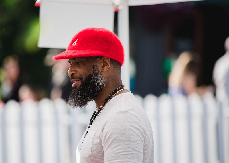 Fuzzy Red Cap