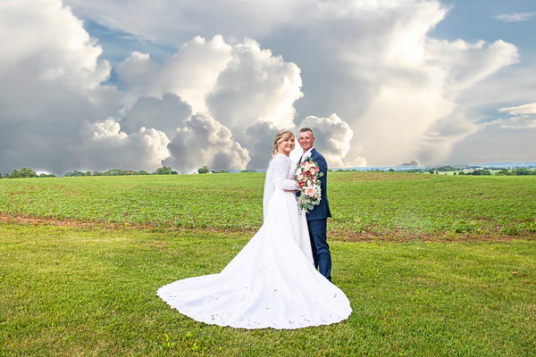 Hannah and Dalton wedding 2020