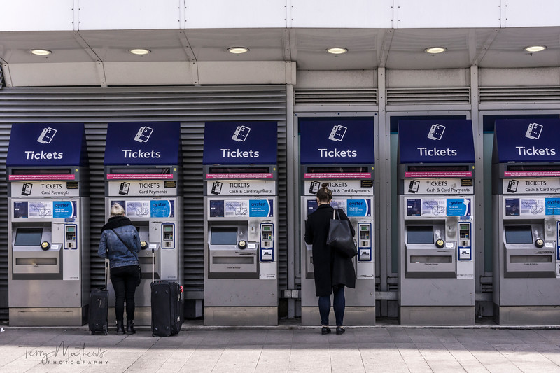 Oyster Ticket Machines