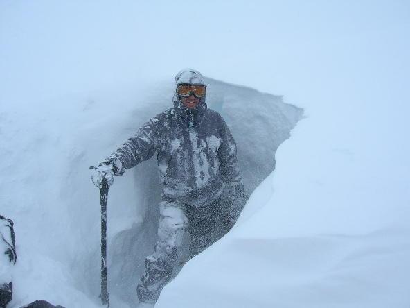 Denali National Park, AK - Ruth Glacier Blizzard 4/2005