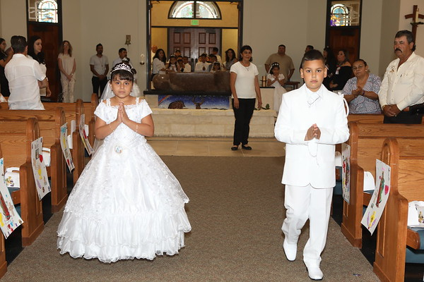 2018 First Holy Communion  (Spanish)