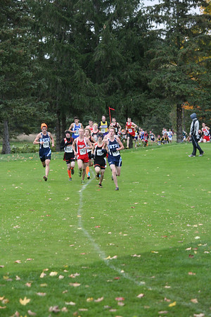XC Regionals Boys D4 Grand Traverse Resort 1/2 Mile