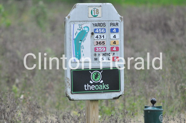 Clinton Invitational boys golf (9-15-14)