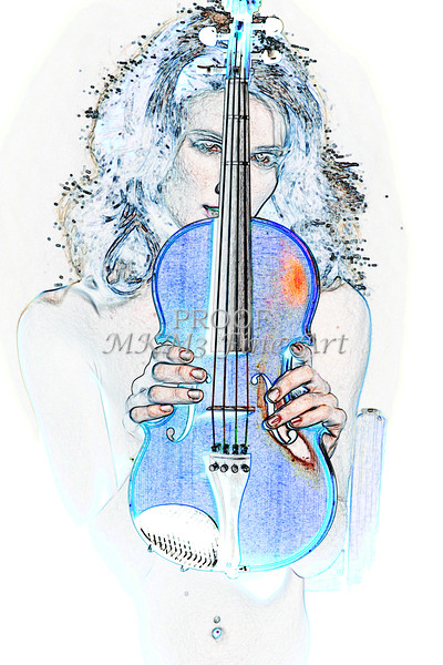 Violin Musician Watercolor Music Photographs