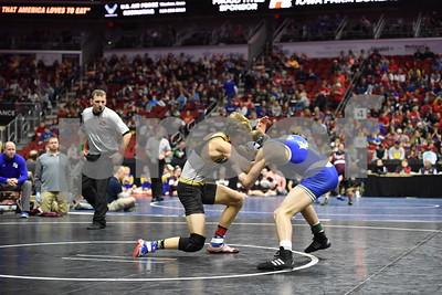 2018 State Wrestling: 1A Semi-Finals