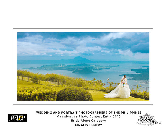 May 2015 WPPP Monthly Photo contest Entry ~ top wedding photographers of the Philippines