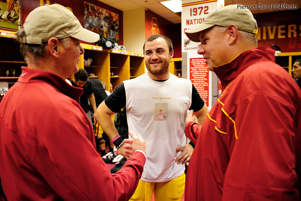 USC Football v UW 2011 (2nd Half & Post Game Locker Room)