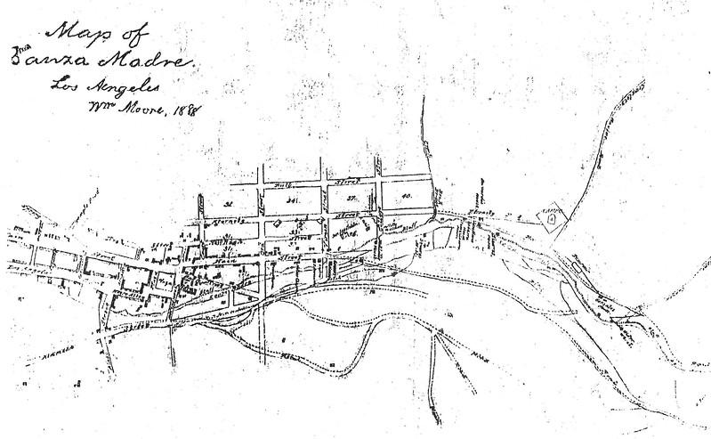 1888, Zanja Madre Map