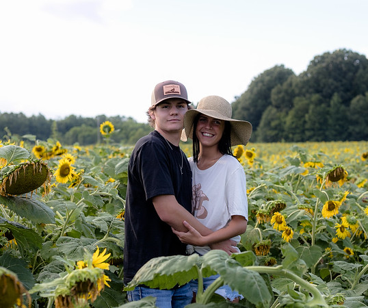 Brooke and Dylan Sunflowers