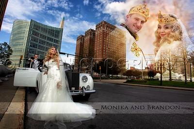 Monika and Brandon