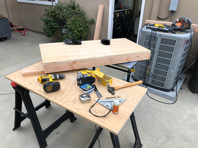 Making the corn-hole game