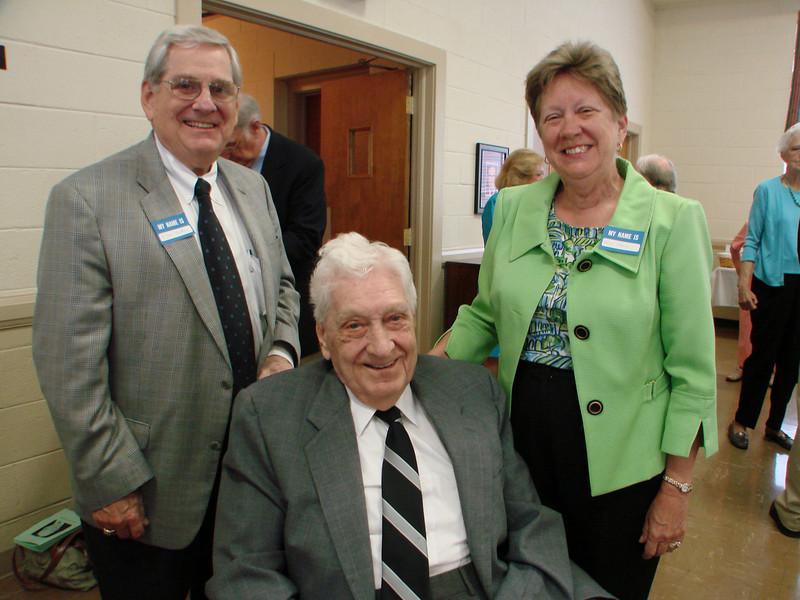 Myron's son, Jim, and daughter, Nancy Harvie