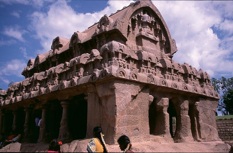 monolithic stone shrine