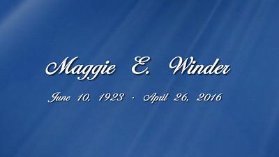Maggie Winder