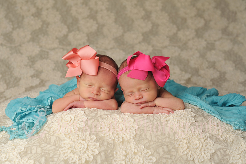 Ava & Ella Newborn 11 Days 10/13/14