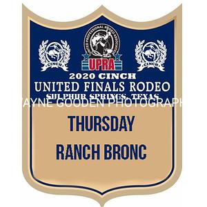 UPRA Finals Thursday Ranch Bronc