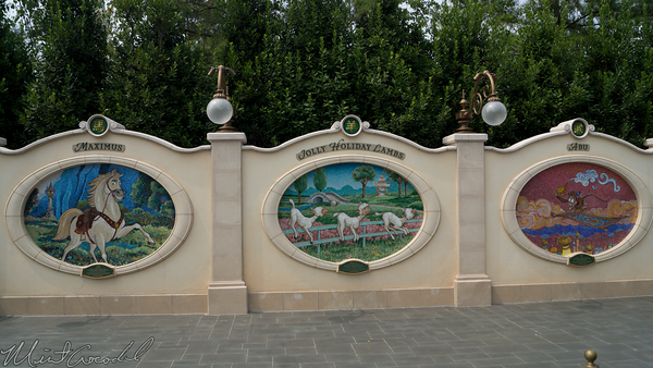 Shanghai Disneyland, Shanghai, Disneyland, Gardens Of Imagination, Gardens, Imagination, Garden of Twelve Friends, Twelve, 12, Friends