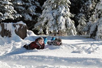Rogalski Family Snow Day Portraits