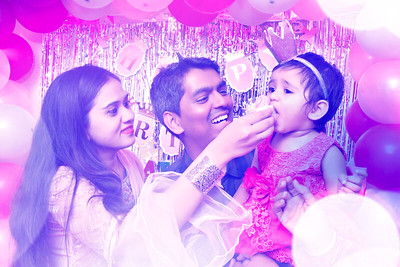 Happy 1st Birthday Airah
