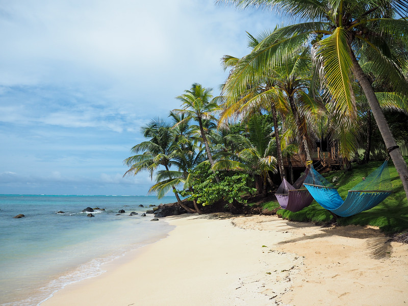 Hammocks on Little Corn Island
