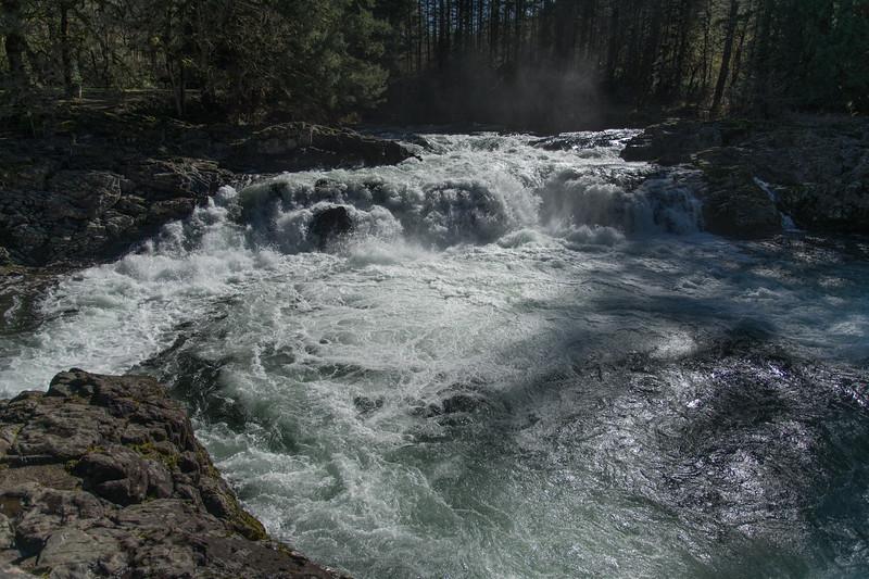 Lucia and Moulton Falls