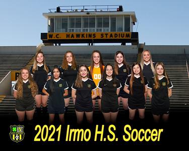 2021 Girls Soccer  Varsity