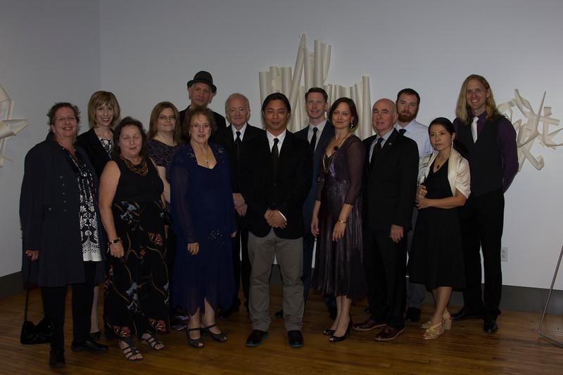 Faculty at VAC Grand Opening