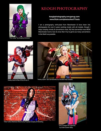 Cosplayzine February 2017 Publication