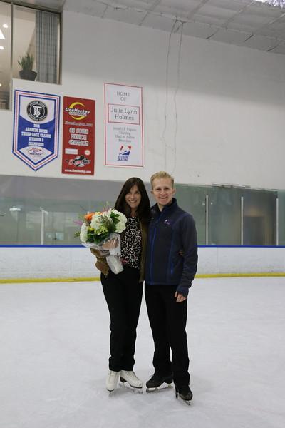 Julie Newman Figure Skating Hall of Fame Celebration
