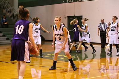 Girls JV & Varsity vs. Eustace, Jan. 12, 2010