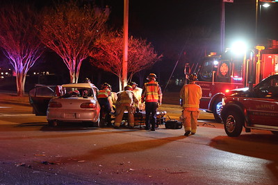 McKinney TX. Extrication MVA Medical Cntr. @Eldorado 11/24/18