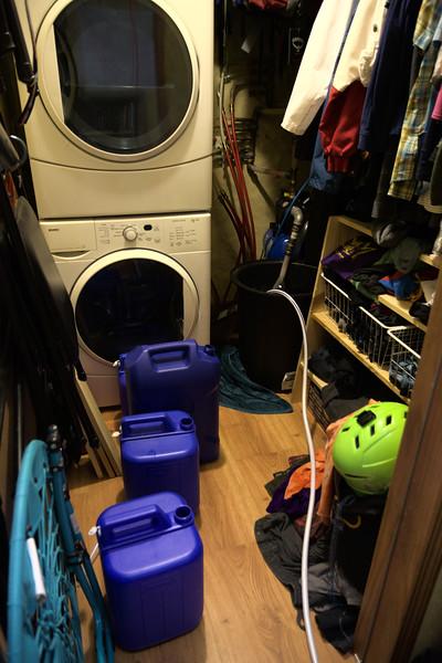 Indoor plumbing. Kind of.