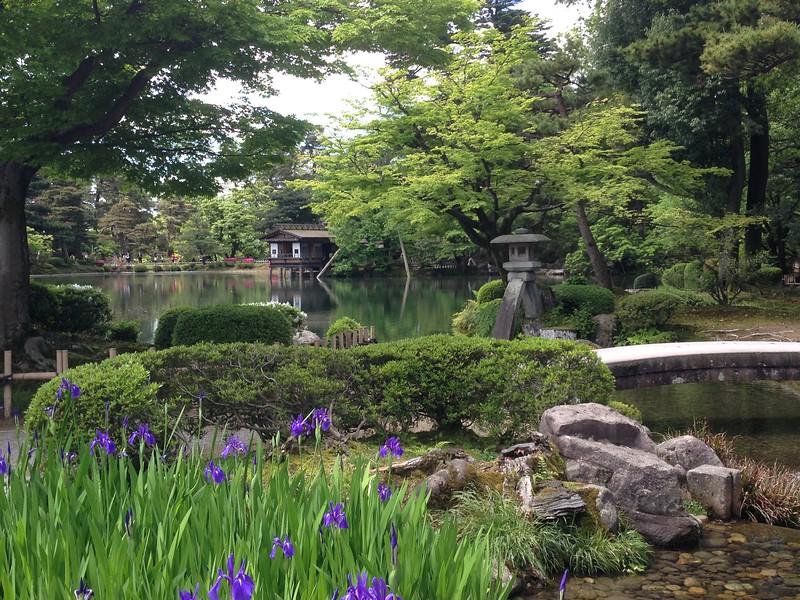 Kenroku-en, Kanazawa - Leslie Rowley S95
