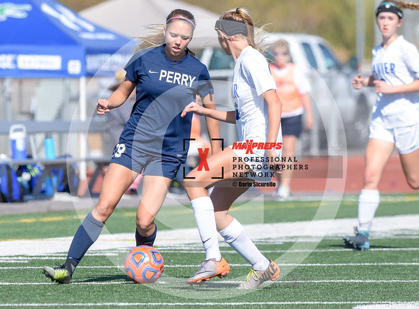 Girls Soccer 2018 Xavier vs Perry