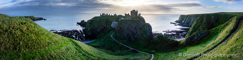 Dunnotar Castle, St. Andrews, Scotland - October 2017